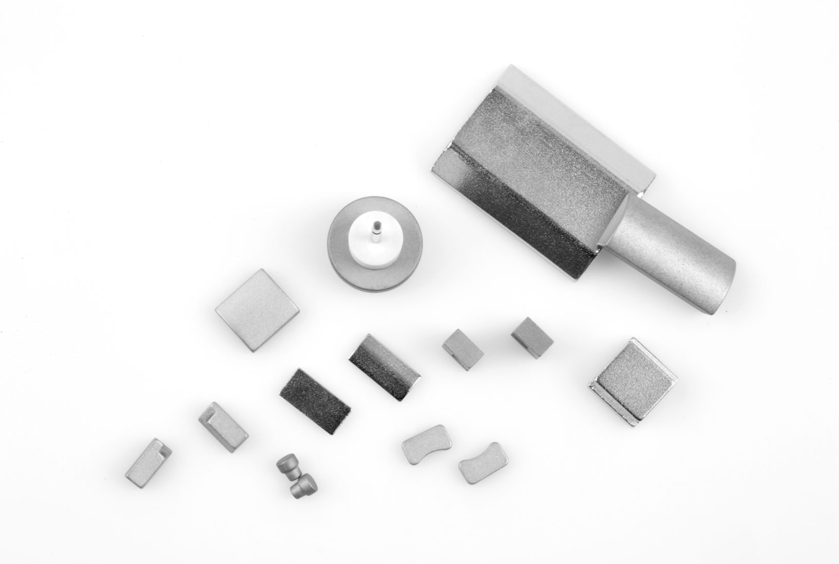 Typical forms and sizes of Samarium Colbalt Magnets