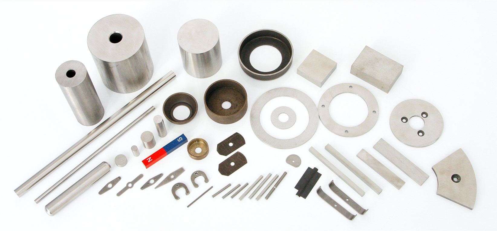 Typical forms and shapes of Iron Chrome Cobalt Magnets