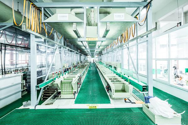 Interior of magnet manufacturing facility of essen magnetics